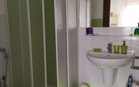 bagno cam verde panoramica